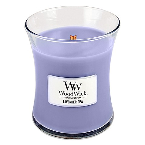 WoodWick® Lavender Spa 10-Ounce Jar Candle