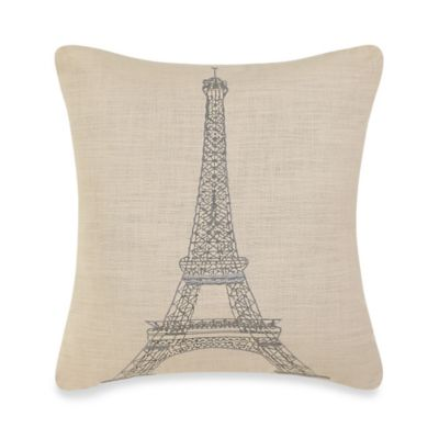 Fleur-De-Lis Square Throw Pillow Throw Pillows