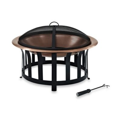 Crosley Ridgeway Bowl Fire Pit in Copper