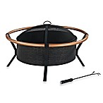 Crosley Yuma Copper Ring Fire Pit in Copper