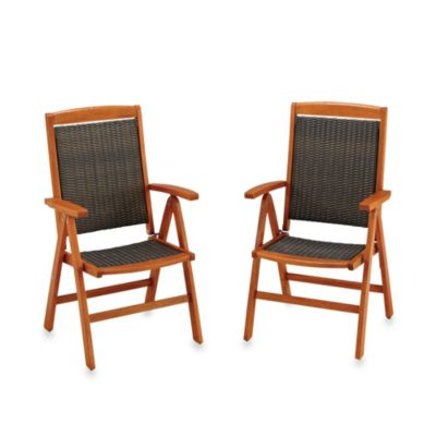Home Styles Bali Hai Outdoor Arm Chair (Set of 2)