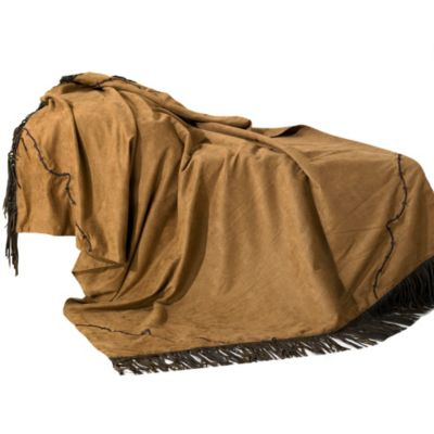 Barbwire Rustic Ranch Throw Blanket
