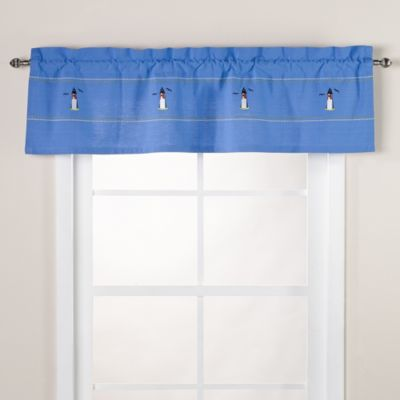 Lighthouse Window Valance