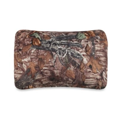 Rectangular Travel Pillow in Camo