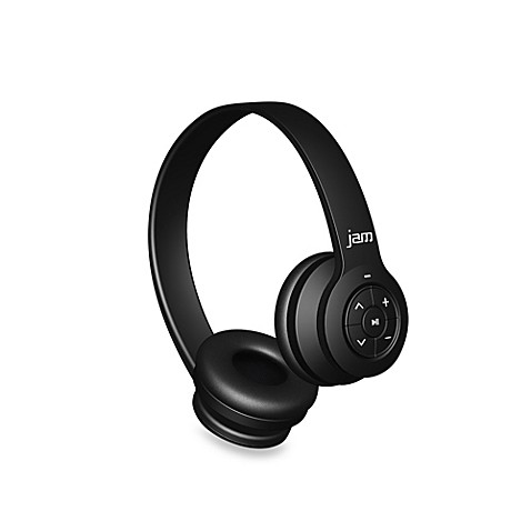 jam transit bluetooth wireless headphones bed bath beyond. Black Bedroom Furniture Sets. Home Design Ideas