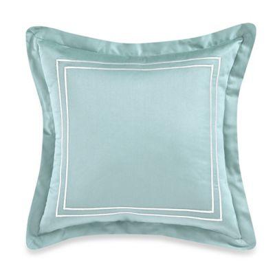 Wamsutta® Baratta Stitch 18-Inch Square Toss Pillow in Sky