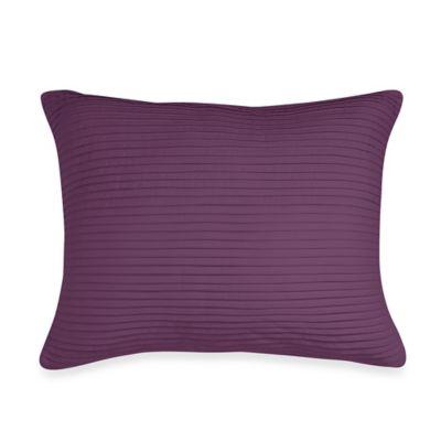 Wamsutta® Baratta Stitch Oblong Throw Pillow in Purple