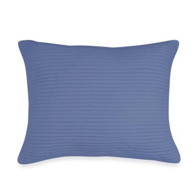 Wamsutta® Baratta Stitch Oblong Toss Pillow in Periwinkle