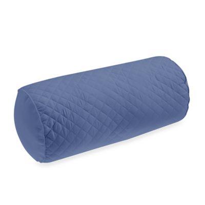 Wamsutta® Baratta Stitch Neckroll Pillow in Periwinkle