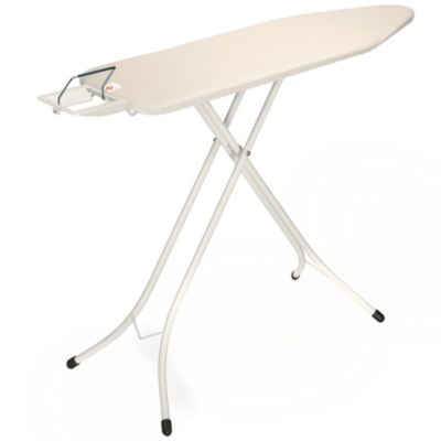 Brabantia 49-Inch x 15-Inch Ironing Table with Ivory Frame and Ecru Cover