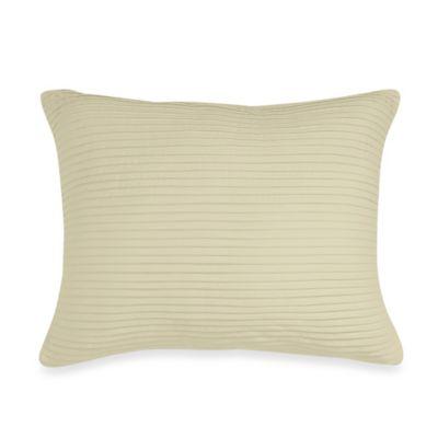 Wamsutta® Baratta Stitch Oblong Throw Pillow in Taupe