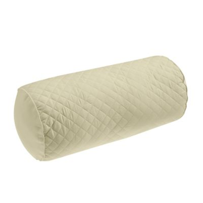 Wamsutta® Baratta Stitch Neckroll Pillow in Taupe