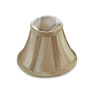 Mix & Match Small 6-Inch Clip-On Bell Lamp Shade in Beige