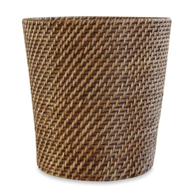 Avalon Wicker Waste Basket