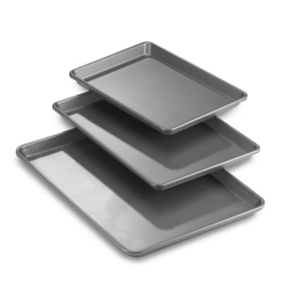 Chicago Metallic™ Professional 3-Piece Cookie/Jelly Roll Pans