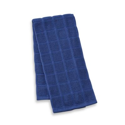 Kitchensmart® 18-Inch x 28-Inch Solid Kitchen Towel in Navy