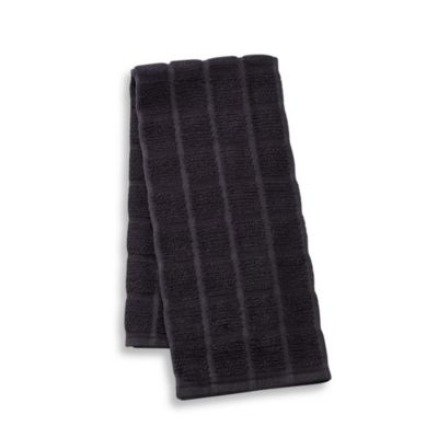 Kitchensmart® Solid Kitchen Towel in Caviar