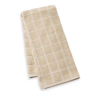 Kitchensmart® Solid Kitchen Towel in Latte