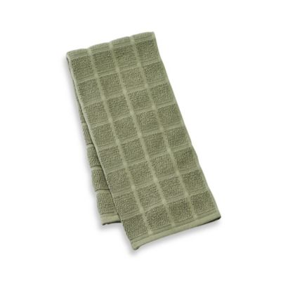 Kitchensmart® Solid Kitchen Towel in Fern