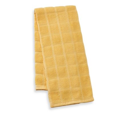 Kitchensmart® 18-Inch x 28-Inch Solid Kitchen Towel in Yolk