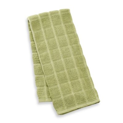 Kitchensmart® 18-Inch x 28-Inch Solid Kitchen Towel in Garden