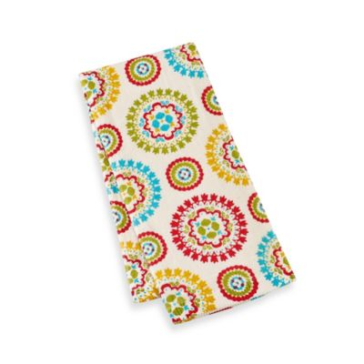 Kitchensmart® 16-Inch x 26-Inch Kitchen Towel in Mosaic Print