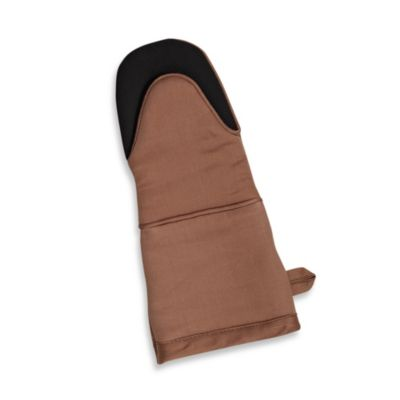 Kitchensmart® Solid Oven Mitt in Mocha