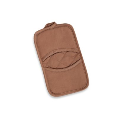 Kitchensmart® Solid Pot Holder in Mocha