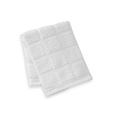Kitchensmart® 13-Inch x 14-Inch Solid Dish Cloth in White
