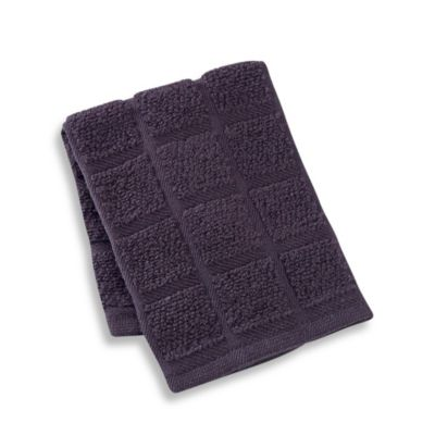 Kitchensmart® 13-Inch x 14-Inch Solid Dish Cloth in Caviar