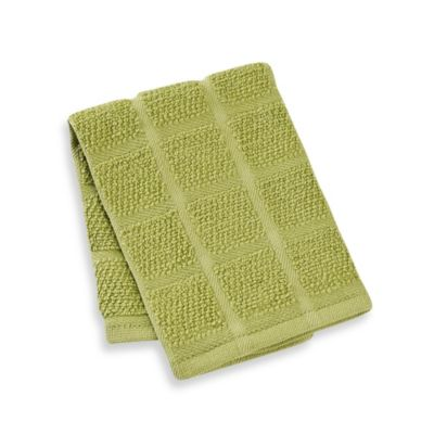 Kitchensmart® 13-Inch x 14-Inch Solid Dish Cloth in Garden
