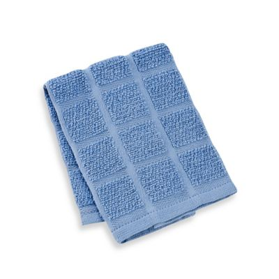 Kitchensmart® 13-Inch x 14-Inch Solid Dish Cloth in Lake