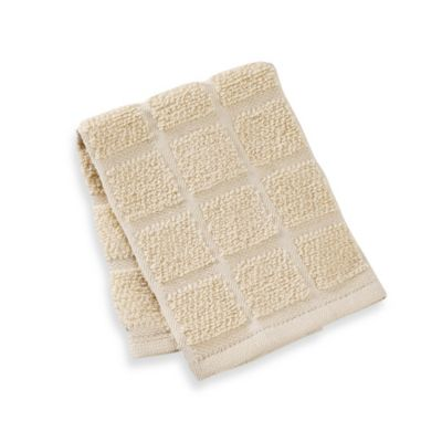Kitchensmart® 13-Inch x 14-Inch Solid Dish Cloth in Latte