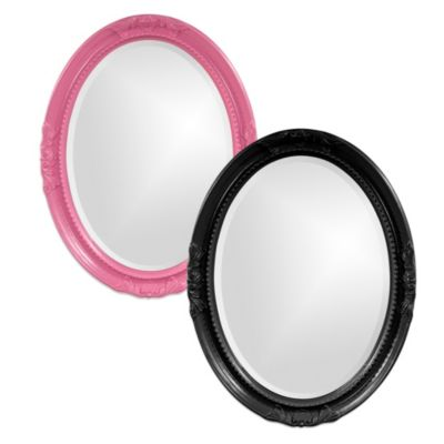 Howard Elliott® Queen Ann Wall Mirror in Hot Pink