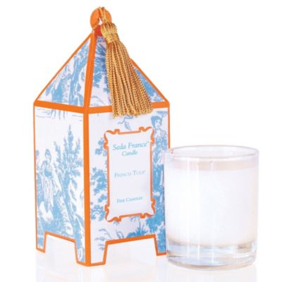 Seda France™ French Tulip Classic Toile 10 oz. Large Pagoda Candle