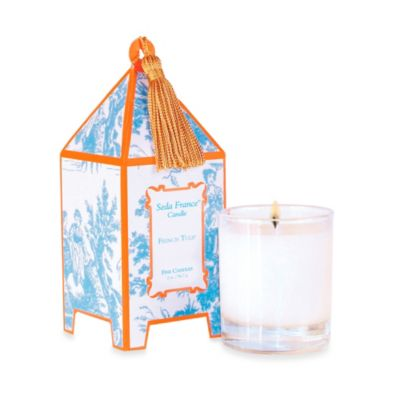 Seda France™ French Tulip Classic Toile 2 oz. Mini Pagoda Candle