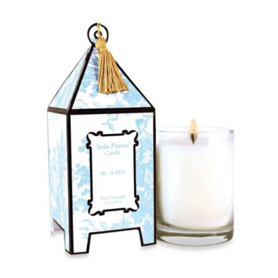 Seda France™ Sel De Mer Classic Toile 10 oz. Large Pagoda Candle