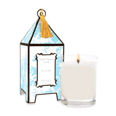 Seda France™ Sel De Mer Classic Toile 2 oz. Mini Pagoda Candle