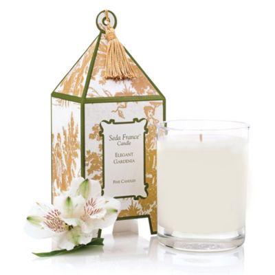Seda France™ Elegant Gardenia Classic Toile 2 oz. Mini Pagoda Candle