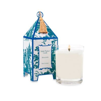 Seda France™ Hyacinth Classic Toile 10 oz. Large Pagoda Candle