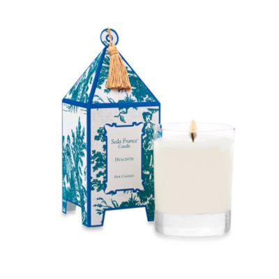 Seda France™ Hyacinth Classic Toile 2 oz. Mini Pagoda Candle