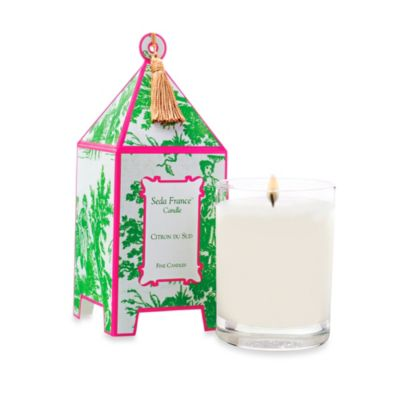 Seda France™ Citron Du Sud Classic Toile 2 oz. Mini Pagoda Candle