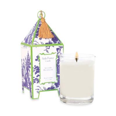 Seda France™ Lavande Provençale Classic Toile 10 oz. Large Pagoda Candle