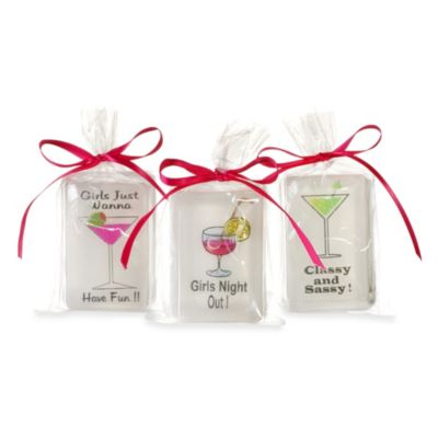 Clearly Fun 3-Pack Martini Soap
