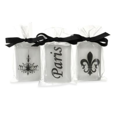 Clearly Fun 3-Pack Paris Soap