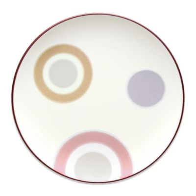 Noritake® Colorwave Circles Accent Plate in Raspberry