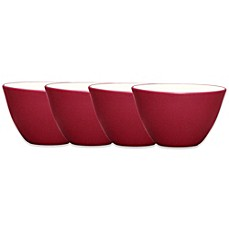Noritake® Colorwave Mini Bowls in Raspberry (Set of 4)