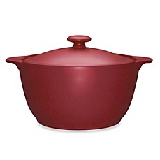 Noritake® Colorwave Covered Casserole Dish in Raspberry