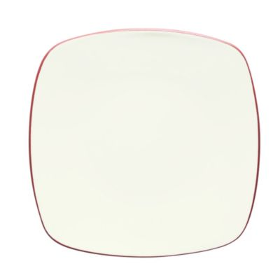 Noritake® Colorwave Square Dinner Plate in Raspberry