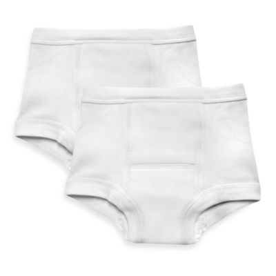 i play.® 2-Pack Size 18M Training Pants in White